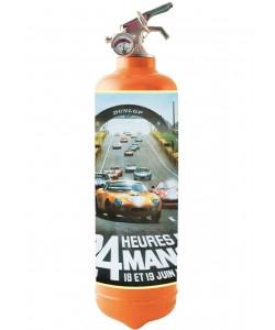 24H  du Mans Poster 4 Orange