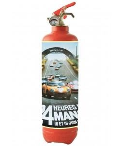 24H  du Mans Poster 4 Rouge