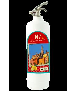 N7 Menton blanc