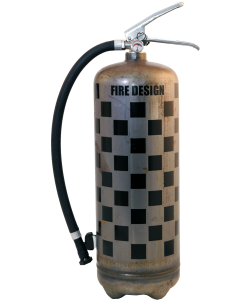 Fire extinguisher design LOFT Rallye raw vintage