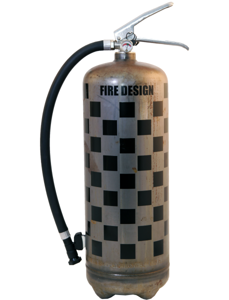 Fire extinguisher design LOFT Rallye raw