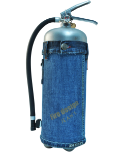 Fire extinguisher design LOFT Jeans 1 limited edition