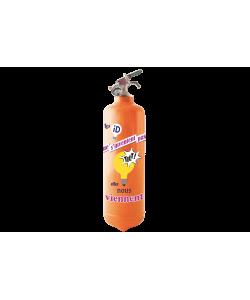 ID Poster Tilt orange
