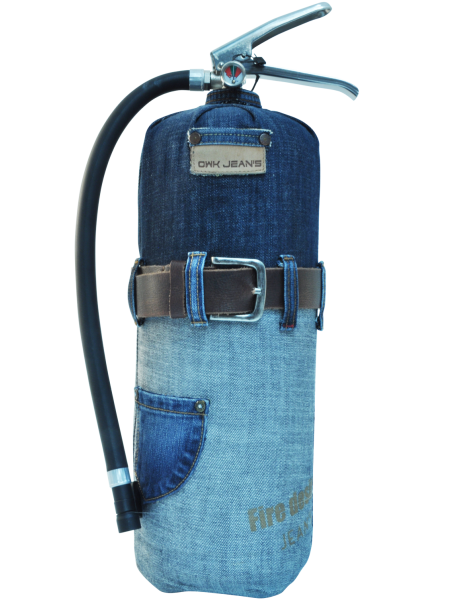 Fire extinguisher design LOFT Jeans 2 limited edition