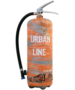 Fire extinguisher design LOFT Urban Line orange Limited Edition