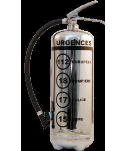 Estintore design LOFT Urgences FR cromo