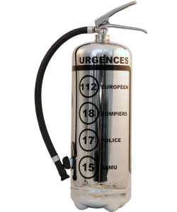 Fire extinguisher design LOFt Emergency chrome