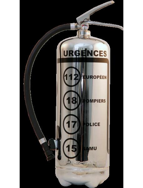 Estintore design LOFT Urgences Cromo