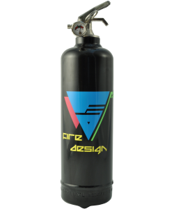 Fire extinguisher design Electro black