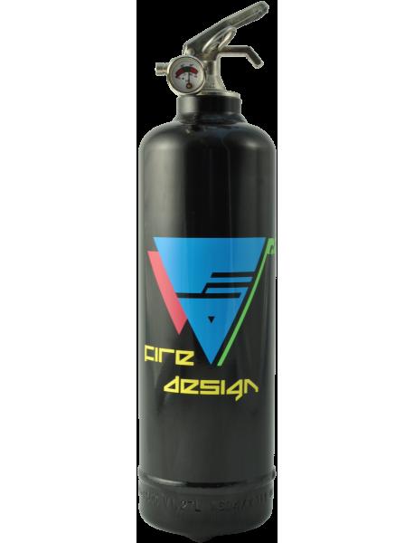 Estintore design Electro nero