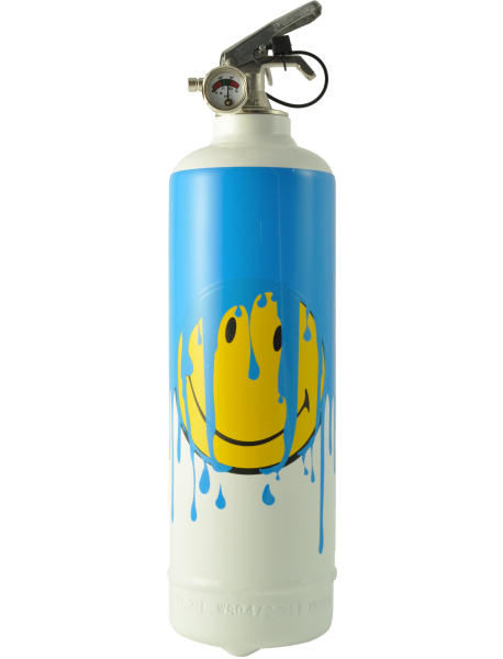 SMILEY Drips Blanc/Bleu