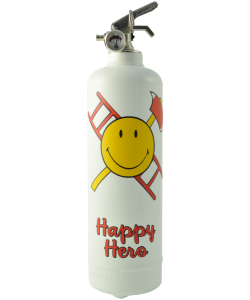 Extincteur déco Smiley Happy Hero
