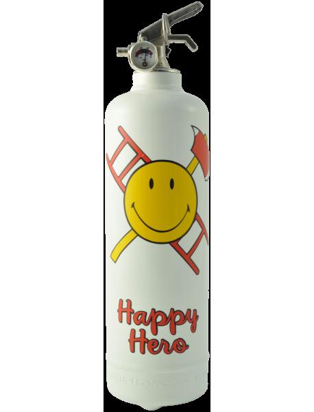 Estintore design Smiley Happy Hero