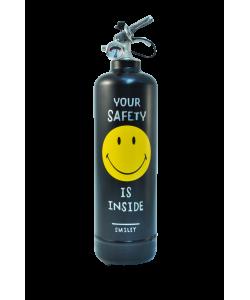 Fire extinguisher design Smiley black