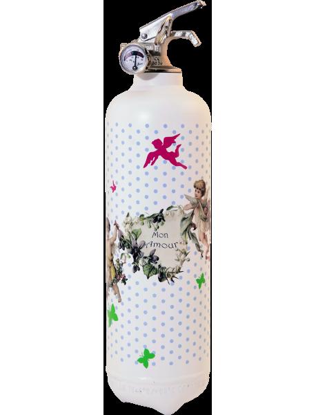 Fire extinguisher design Parischeri Angello white