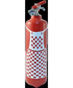 Fire extinguisher kitchen Tablier Bistrot red