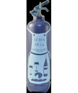 Fire extinguisher design Tablier Gastronome grey