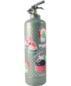 Fire extinguisher design UPPER Cupcake