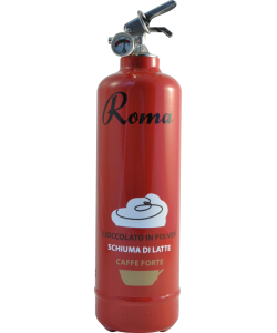 Fire extinguisher design VJ Coffee Roma