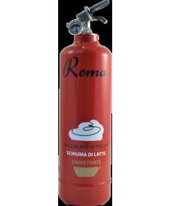 Fire extinguisher design VJ Coffee Roma