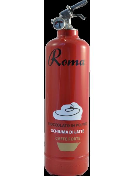 Estintore design VJ Coffee Roma