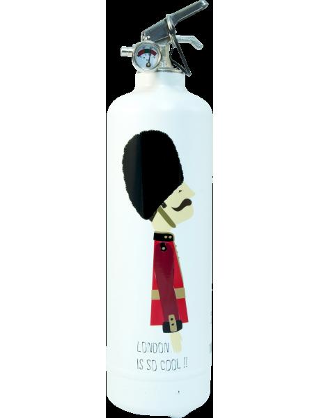 Fire extinguisher design TC Mister London white