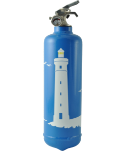 Fire extinguisher design Phare blue