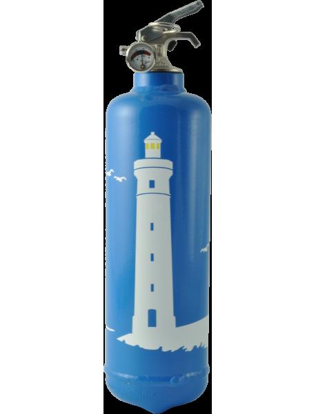 Estintore design Phare blu