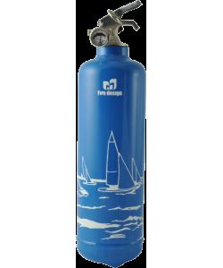 Extincteur bateau Regate bleu