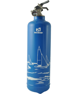 Fire extinguisher design Regate blue