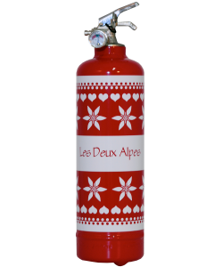 Fire extinguisher design LB Jacquard
