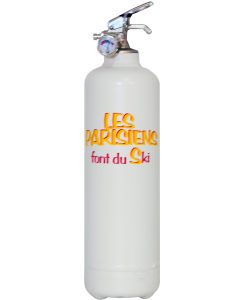 Fire extinguisher design LB Les Parisiens