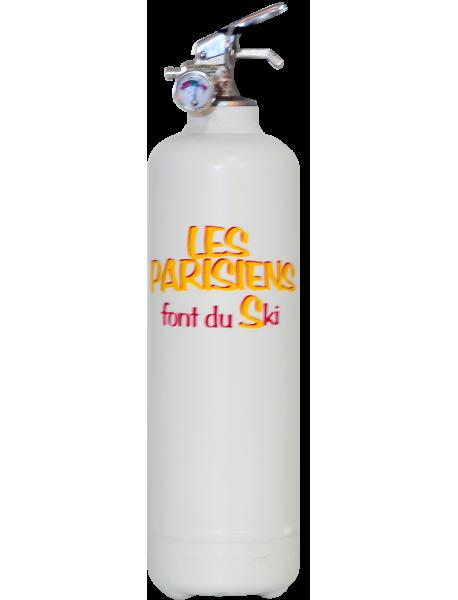 Fire extinguisher design LB Les Parisiens