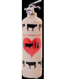 Fire extinguisher design Parischeri Communailles light brown