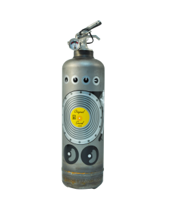 Fire extinguisher design AKLH DJ vintage