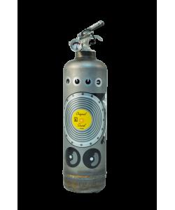 Fire extinguisher design AKLH DJ vintage