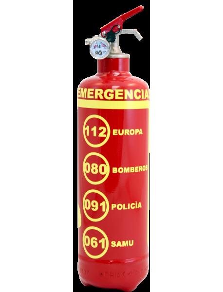 Urgences ES rouge-jaune