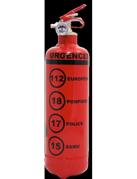 Urgences FR rouge-noir