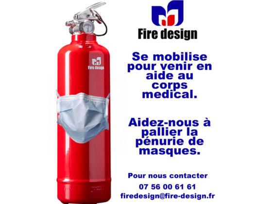 Aide Corps Médical Fire design-blog